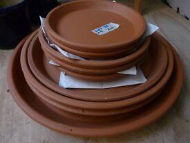 giant terracotta plant pot dishes