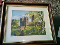 Durham Cathedral painting