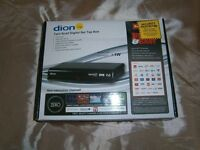 Dion Set Top Box (Freeview 48 Channels)