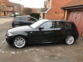 BMW 1 series 118d M sport, 12 months MOT