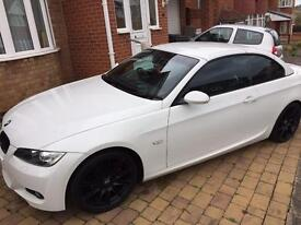 BMW 320i msport convertible white