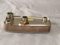 Alpha 1.015957 DHW Heat Exchanger - 1.015957