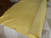 ROLL FABRIC APPROX 10 METRES PLUS.... SUITABLE CURTAINS CUSHION COVERS ETC