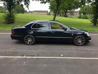 2003 53 LEXUS LS430 4.3 V8 AUTO BLUE MODIFIED POWERFLOW EXHAUSTS