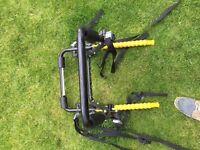 Two Separate Bike Racks