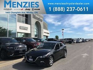 2015 Mazda MAZDA3 GX, Bluetooth, Fog Lamps, Low KM'S, Clean Carp