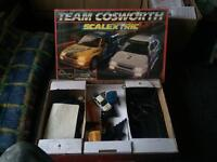 Scalextric cosworth set & extra cars
