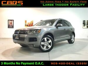 2012 Volkswagen Touareg 3.6L Highline| Navigation| Back Up Cam|