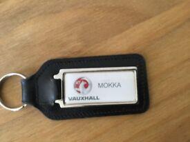 Vauxhall Mokka key rings