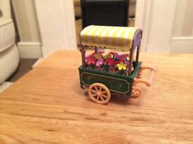 Vintage Sylvanian Families Flower Cart