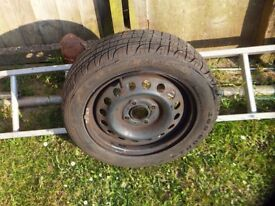 Nissan micra wheel and tyre