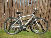 Adult (small /medium) mountain bike serviced and fully working