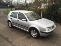 Fabulous very low mileage Golf 1.9 TDi SE - Excellent condition - New MOT - complete service history