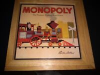 Monopoly Set (Wooden Boxed)