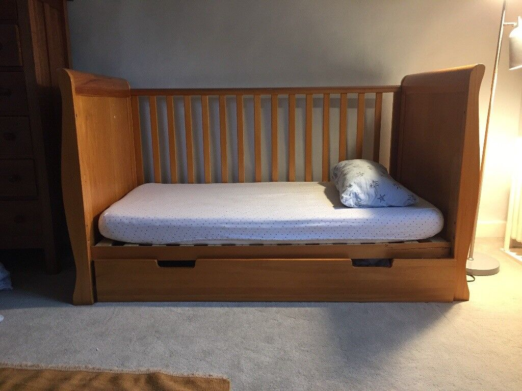 Child's wooden cot - FREE