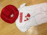 Canada t-shirt and hats