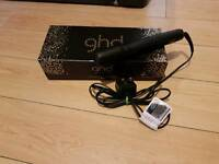 GHD GOLD HAIR STRAIGHTENERS WITH HEAT GAURD AND BOX RRP £130 NOW SOLD X