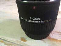 Sigma 2x converter APO EX DG