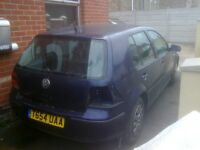 BREAKING MARK 4 VOLKSWAGEN GOLF FREE LOCAL DELIVERY