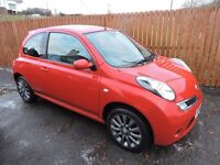 NISSAN MICRA 1.2 TEKNA 3DR,TOP OF THE RANGE WITH LEATHER AND EVERY EXTRA