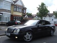/// MERCEDES BENZ CLK CONVERTIBLE/CABRIOLET 2.3 /// AUTOMATIC /// LEATHERS ///