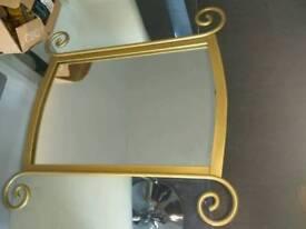 Next gold mirror