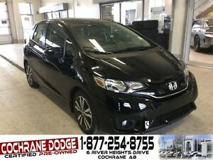 2016 Honda Fit EX-L w/LEATHER, SUNROOF AND NAV!