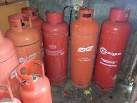 Propane gas bottles 48kg