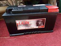 Car battery BMW 5 series Lion Battery 3 year guarentee