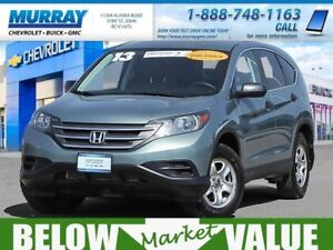 2013 Honda CR-V LX AWD  **LOW kms! new tires!**