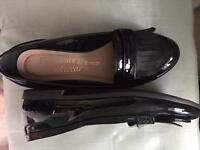 Black. Shoes