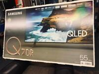 55 inch smart Samsung OLED new tv come with Alexa