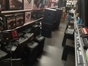 *USED* SPEAKERS FOR SALE AT RED ONE - NEW ARRIVAL !