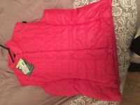 New with tag Ladies Pink Vest size L