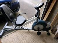 CARL LEWIS - Magnetic Recumbent Exercise Bike