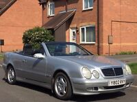 LHD Mercedes Benz C200k Convertible LEFT HAND DRIVE