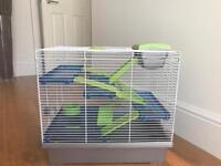 **NOW TAKEN** HAMSTER CAGE WITH ACCESSORIES