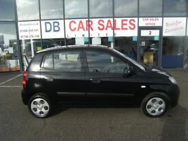 ONLY 28K MILES !!! AUTOMATIC !!! 2009 59 KIA PICANTO 1.1 STRIKE 5D AUTO 64 BHP ** GUARANTEED FINANCE
