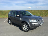 LOW MILEAGE 2008 LAND ROVER FREELANDER 2 TD4 2.2 GS FULL SERVICE HISTORY AND LONG MOT! GREAT CAR!