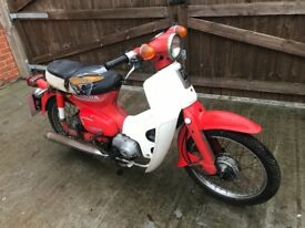 Honda c70 1982 c90 c50 Spares or repairs project barn find