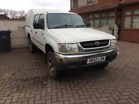 Toyota hilux Double cab 2003 £1895