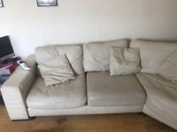 NATUZZI CREAM SOFA for free