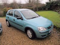 SUPER CORSA 1.2 TWINPORT, 2004, 5DR, LOW MILES, MOT, LOW INSURANCE, 50MPG, PART-EXCHANGE WELCOME