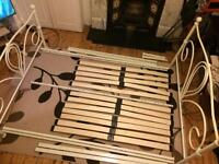 Double bed frame