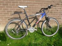 Scott Tampico mens mountain bike. Top of the range bike, well used but still servicable