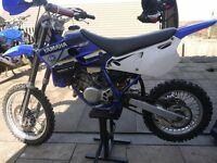 Race tuned yz 80 for swap road legal 125