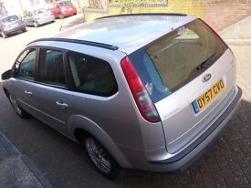 FORD FOCUS DIESEL ESTATE GHIA 2007 1 OWNER LOW MILEAGE FULL SERVICE HISTORY EXCELLENT MECHANICALLY