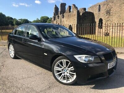 2007 (07) Bmw 330d M Sport Saloon - Automatic - Full Leather - Low Miles -