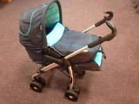 Baby pram, stroller and car seat for sale (Hauck Disney Condor All In One Travel System)