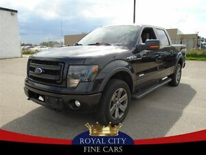 2013 Ford F-150 fx4 Ecoboost leather navigation Sunroof
